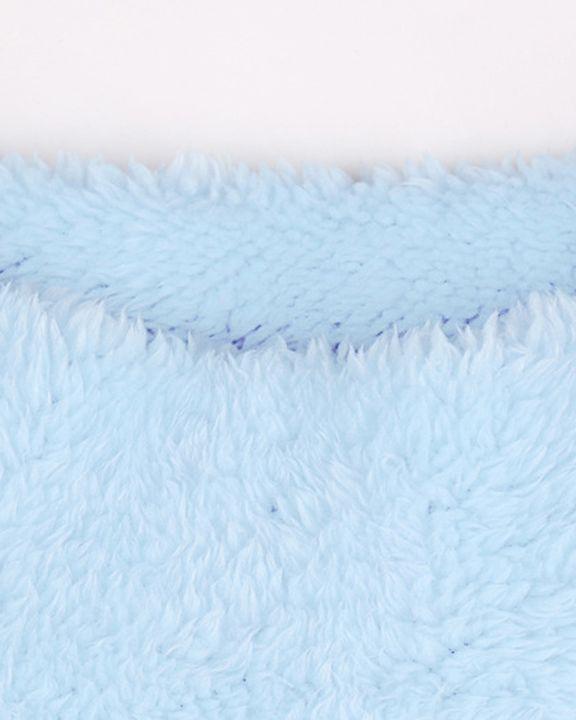 Fuzzy High Neck Long Sleeve  Mini Dress gallery 7