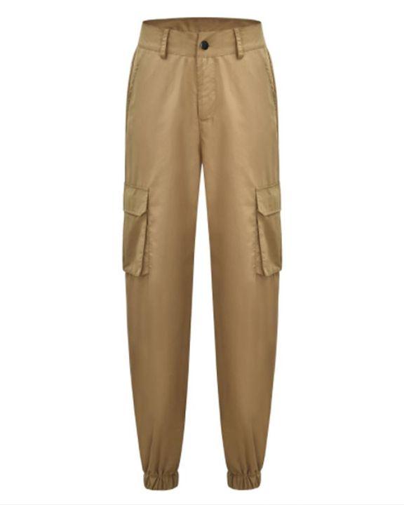 Studded Flap Pocket High Waist Pants gallery 4