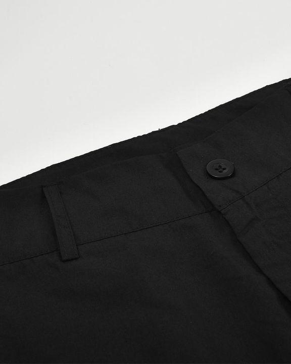 Studded Flap Pocket High Waist Pants gallery 9
