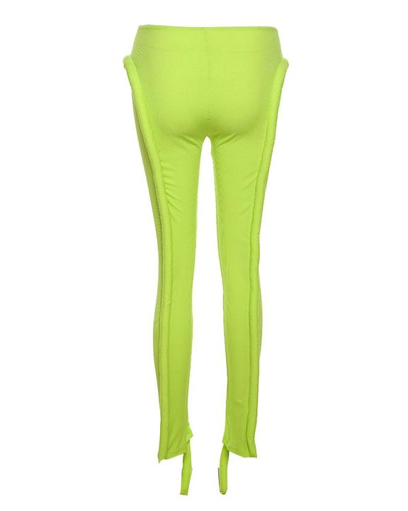 High Waist Asymmetrical Skinny Pants gallery 7