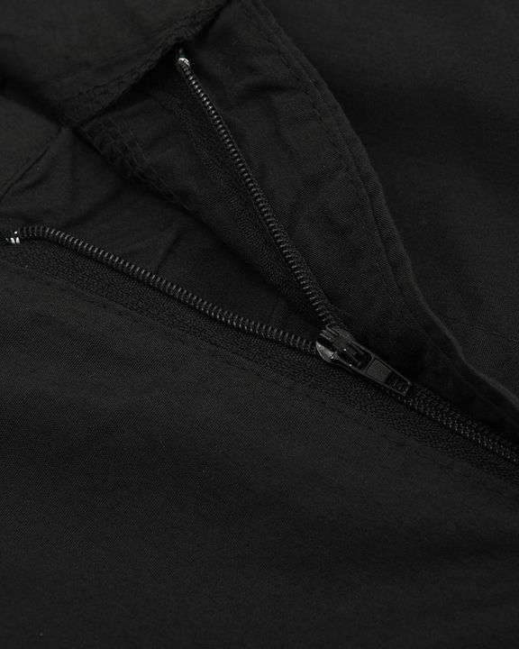 Studded Flap Pocket High Waist Pants gallery 12
