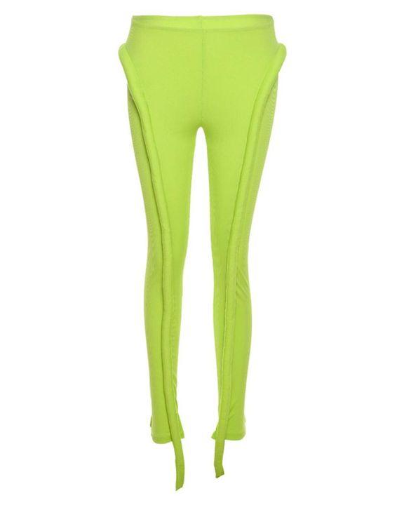 High Waist Asymmetrical Skinny Pants gallery 6