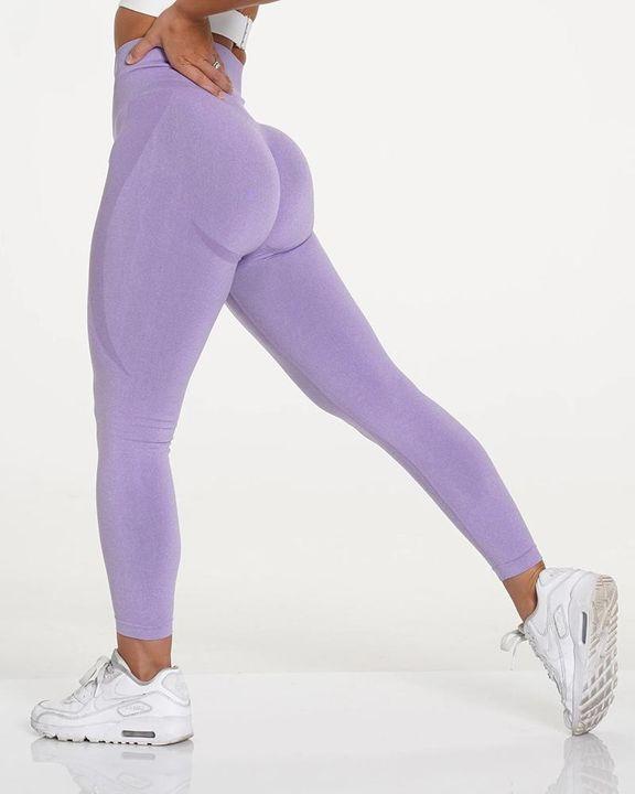 Space Dye Butt Lifting High Waist Sports Leggings gallery 17