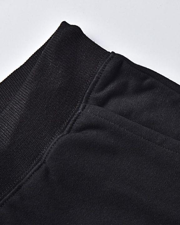 Letter Print Drawstring Waist Slant Pocket Sweatshirt & Pants Set gallery 2