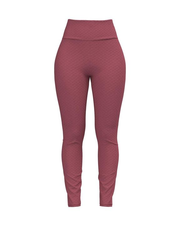 Bow Tie Back Textured Ruched Sports Leggings gallery 18