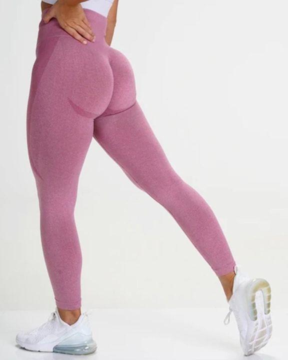 Space Dye Butt Lifting High Waist Sports Leggings gallery 7