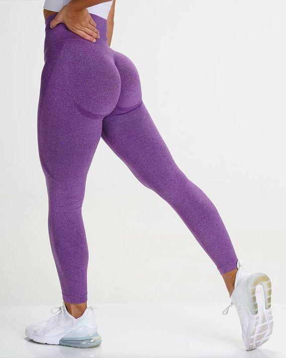 Space Dye Butt Lifting High Waist Sports Leggings gallery 4