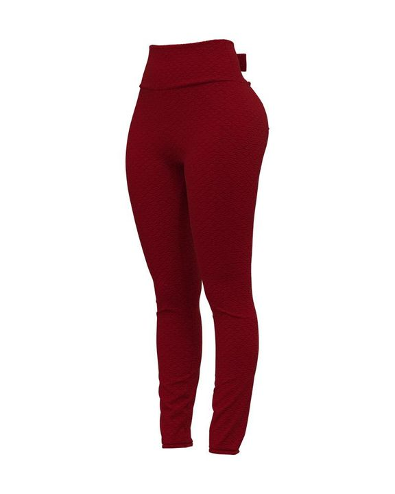 Bow Tie Back Textured Ruched Sports Leggings gallery 6