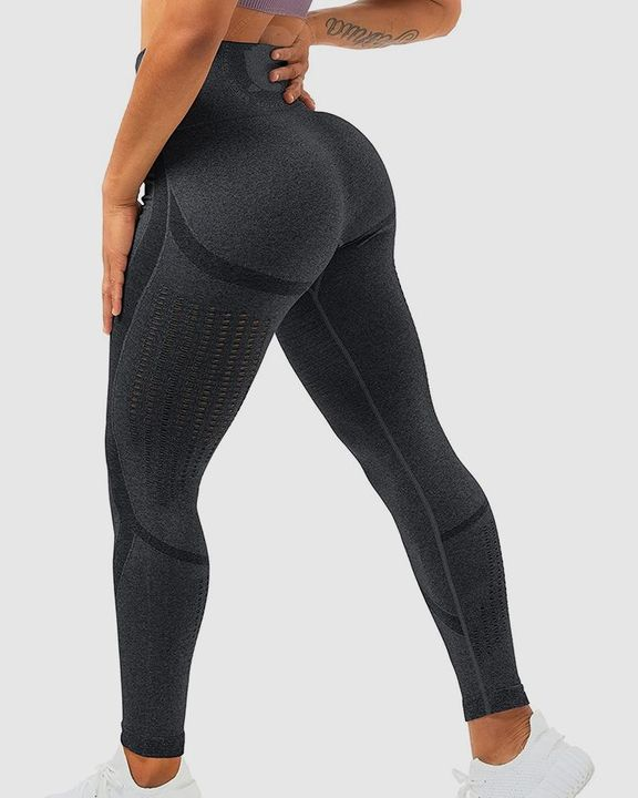 Hollow Out Butt Lifting Sports Leggings gallery 1