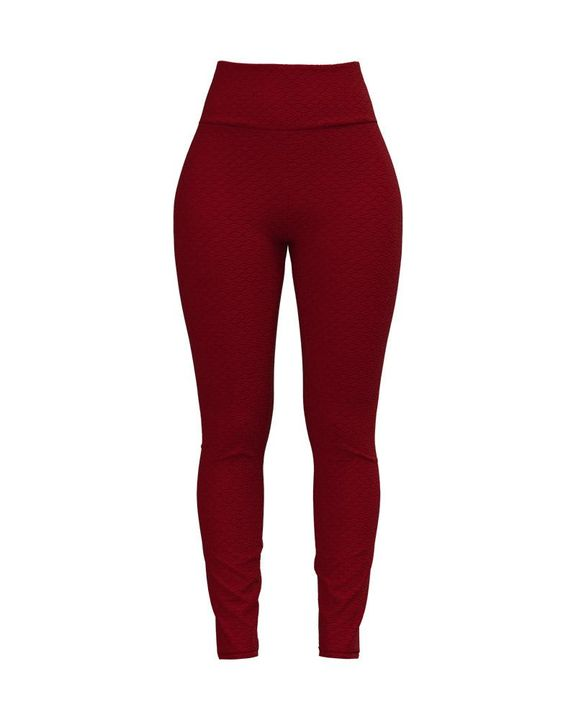 Bow Tie Back Textured Ruched Sports Leggings gallery 5
