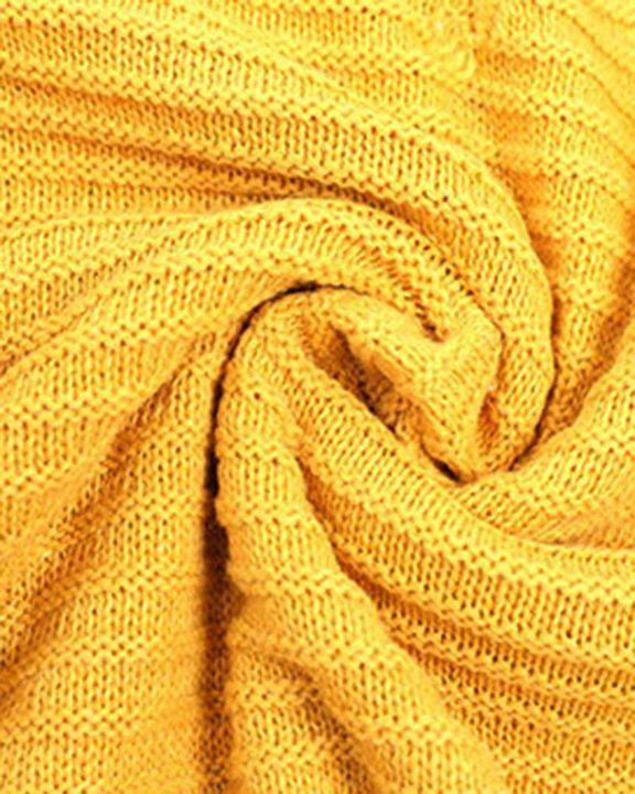 Keyhole Neck Drop Bishop Sleeve Sweater gallery 9