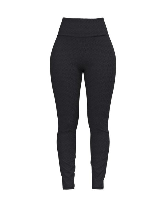 Bow Tie Back Textured Ruched Sports Leggings gallery 13