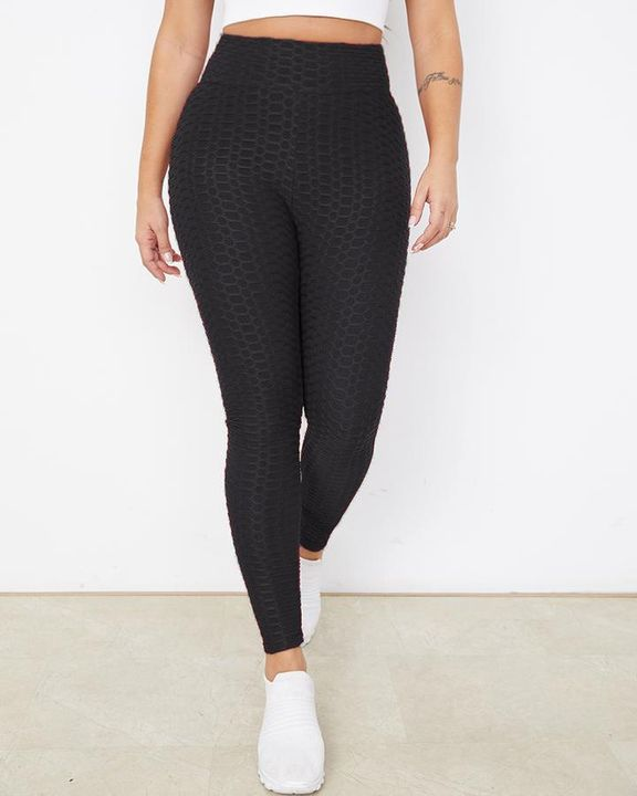 Bow Tie Back Textured Ruched Sports Leggings gallery 10
