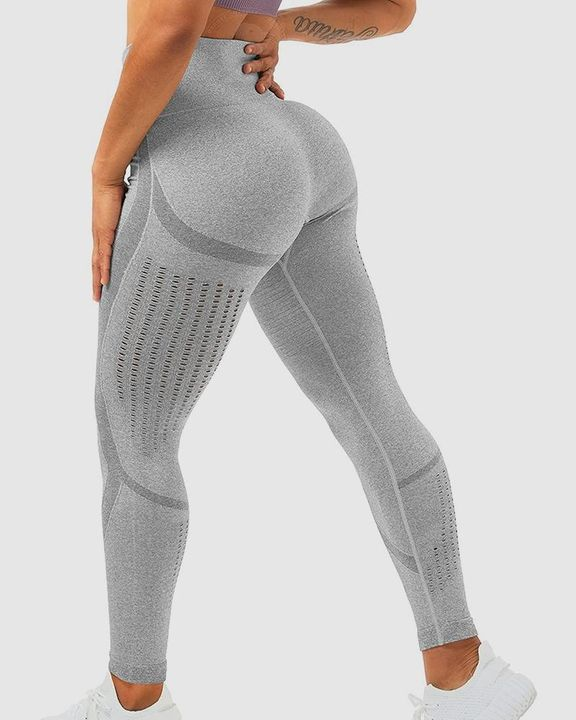Hollow Out Butt Lifting Sports Leggings gallery 2