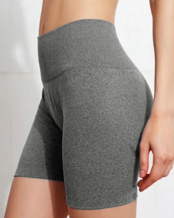 Beauty Contour Wide Waistband Sports Shorts gallery 13