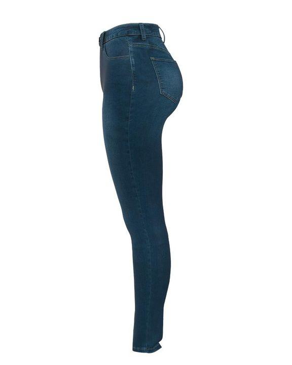 Elastic High Waist Butt Lifting Jeans gallery 12