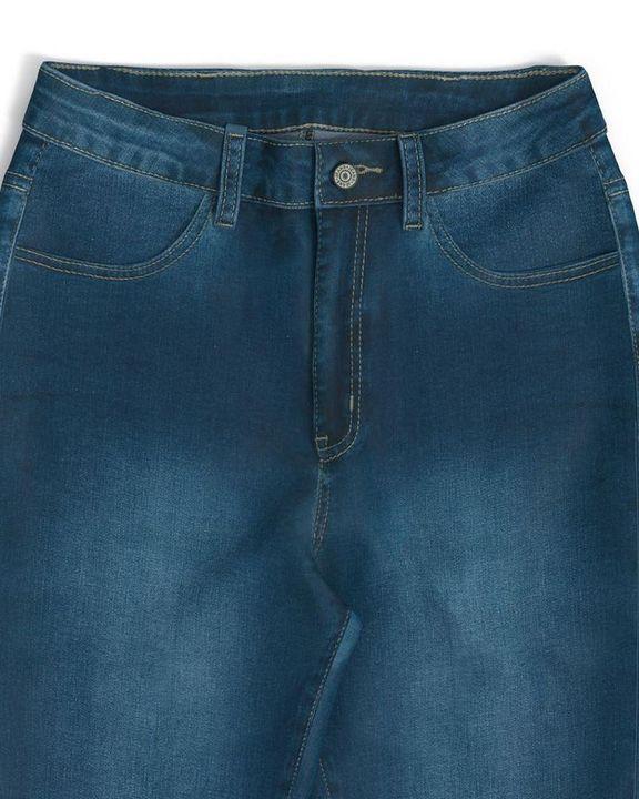 Elastic High Waist Butt Lifting Jeans gallery 15