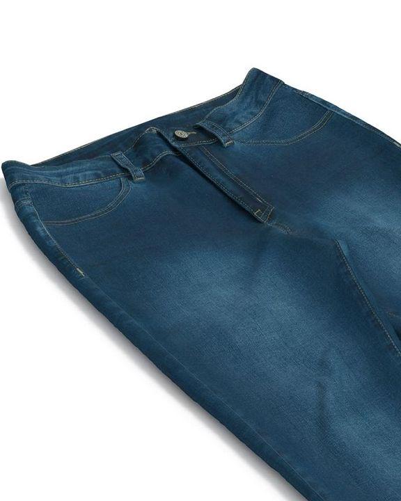 Elastic High Waist Butt Lifting Jeans gallery 14