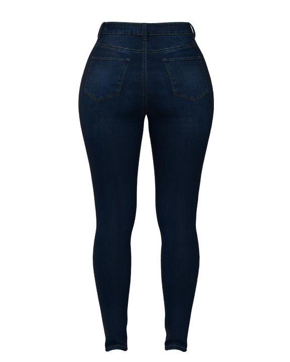 Elastic High Waist Butt Lifting Jeans gallery 18