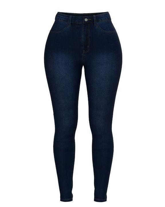 Elastic High Waist Butt Lifting Jeans gallery 16