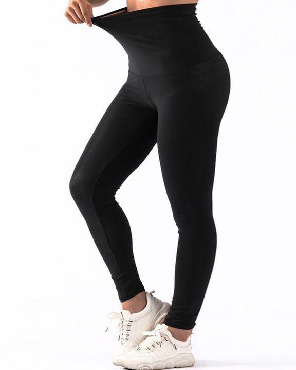 High Waist Workout Enhancer Girdle Sports Leggings gallery 3