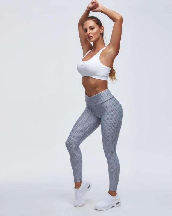 High Waist Butt Lifting Textured Leggings gallery 25