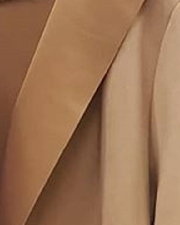 Suede Pocket Detail Open Front Hooded Coat gallery 3