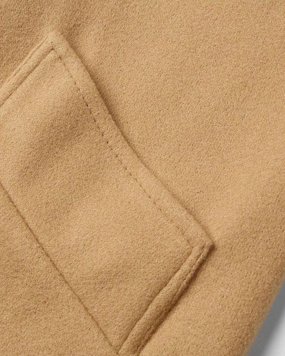 Tie Waist Dual Pocket Lapel Neck Coat gallery 7