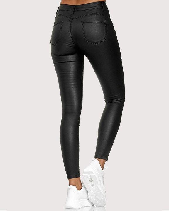 High Waist Butt Lifting Skinny Pants gallery 6