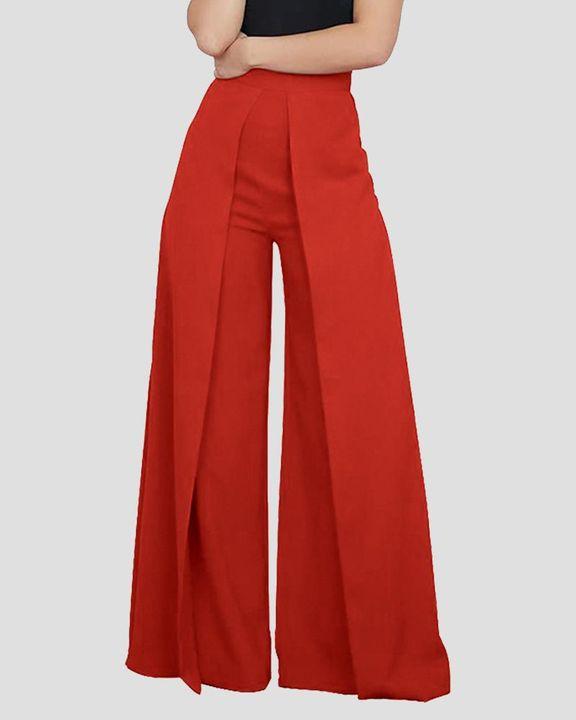 High Waist Pleated Wide Leg Pants  gallery 3