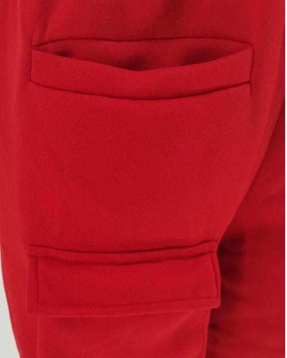 Solid Pocket Detail Drawstring Waist Pants gallery 6