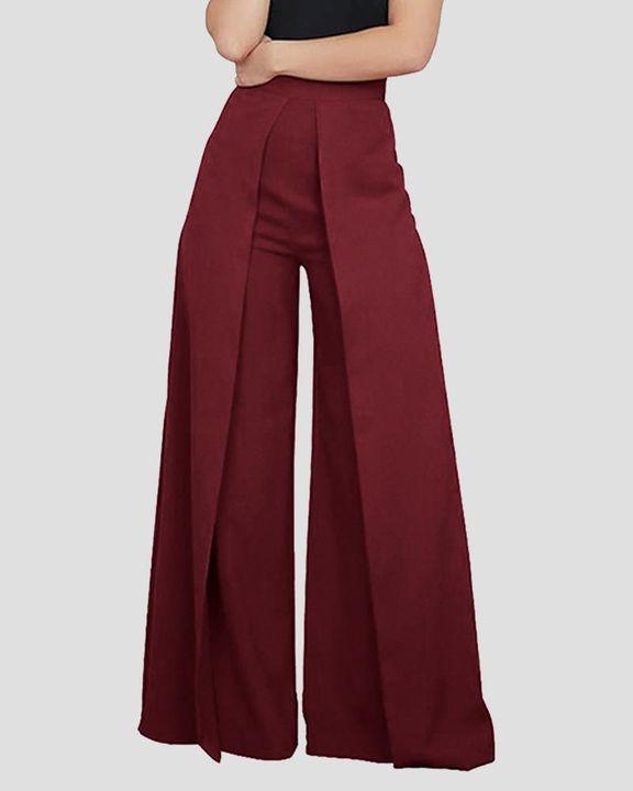 High Waist Pleated Wide Leg Pants  gallery 2