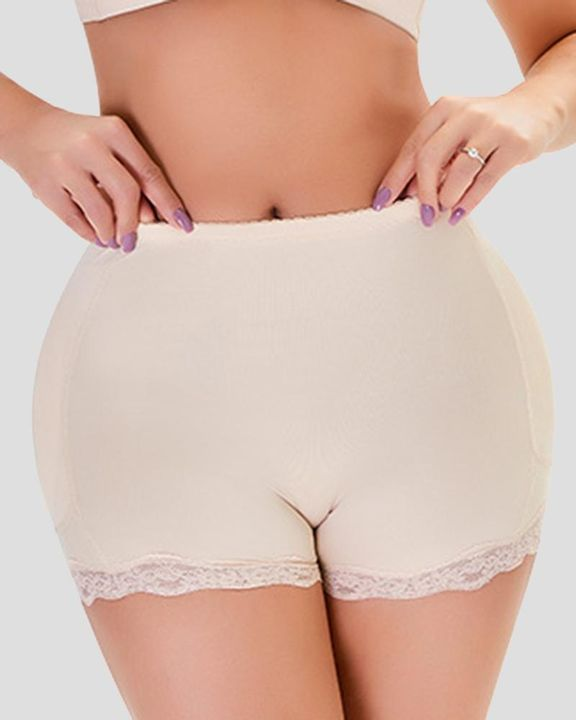 Floral Lace Butt Lifting High Waist Shapewear Shorts gallery 1