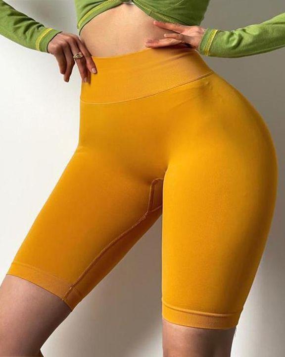 Scrunch Butt Lifting High Waist Sports Biker Shorts gallery 3