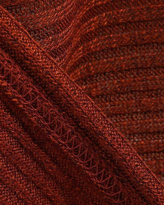 Solid Bell Sleeve Scoop Neck Sweater gallery 14