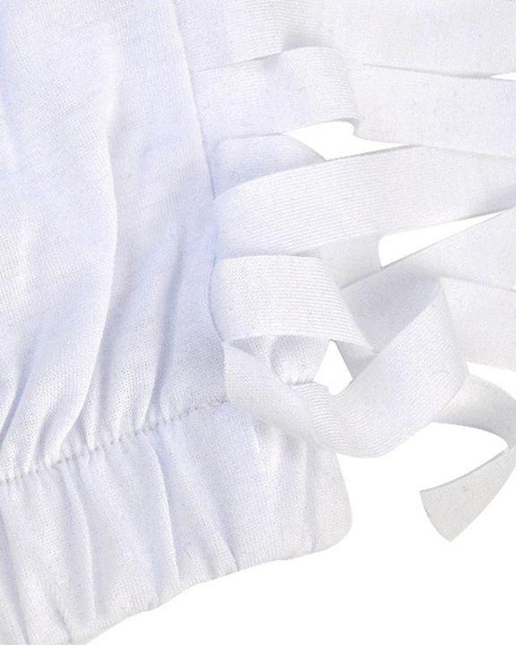 Solid Fringe Trim Hooded Top & Pants Set gallery 9