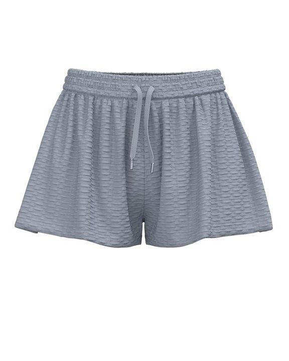 Textured Drawstring Waist Sports Shorts gallery 3