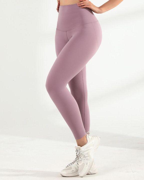 Hip Lifting High Waist Seamless Sports Leggings gallery 3