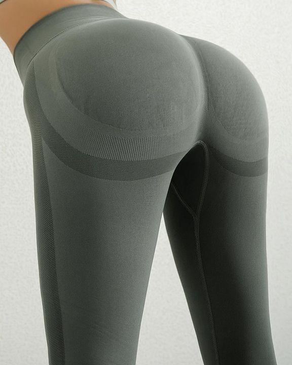 Seamless Butt Lifting Sports Leggings gallery 12