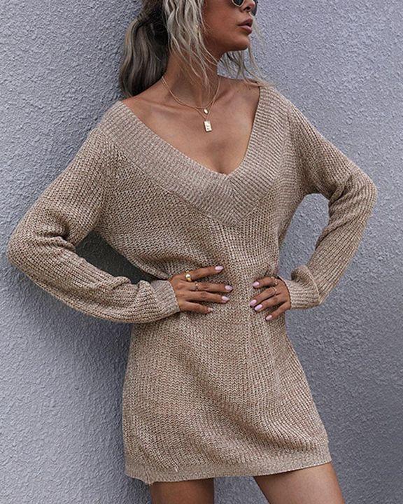 Drop Shoulder Oversized Sweater gallery 2