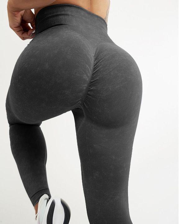 High Waist Scrunch Butt Sports Leggings gallery 9