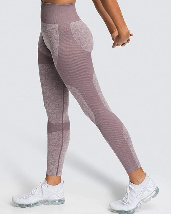 Space Dye Butt Lifting Seamless Absorbs Sweat Sports Leggings gallery 18