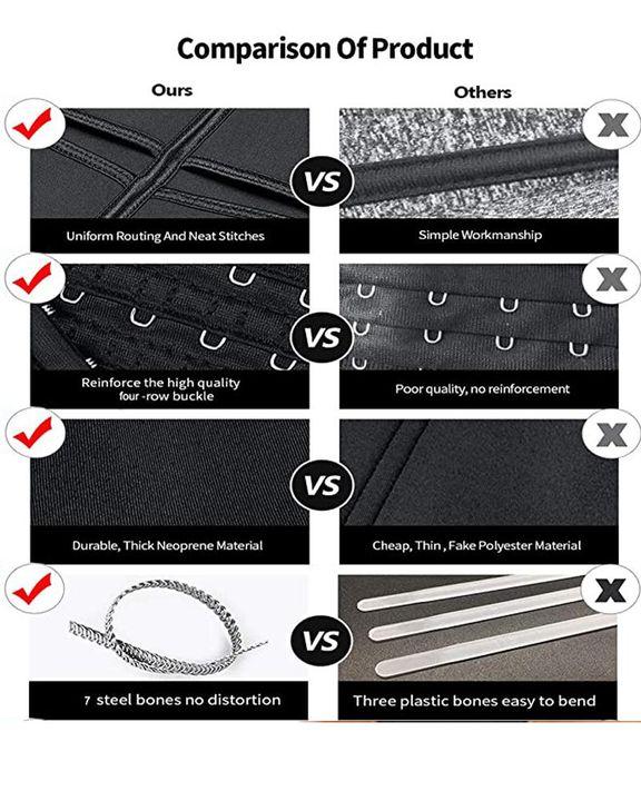 Triple Velcro Closures Trimmer Belt Waist Body Shaper Wrap Trainer gallery 11