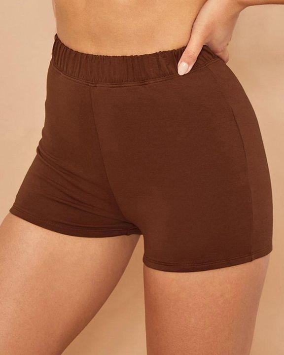 Elastic Waist Butt Lifting Sports Shorts gallery 3