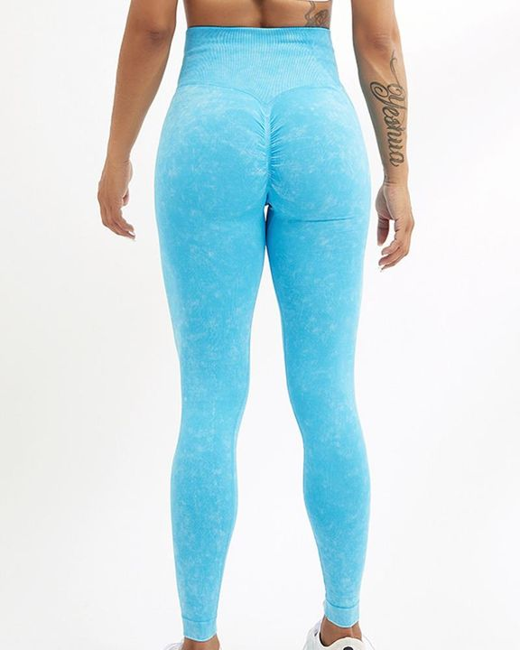High Waist Scrunch Butt Sports Leggings gallery 17