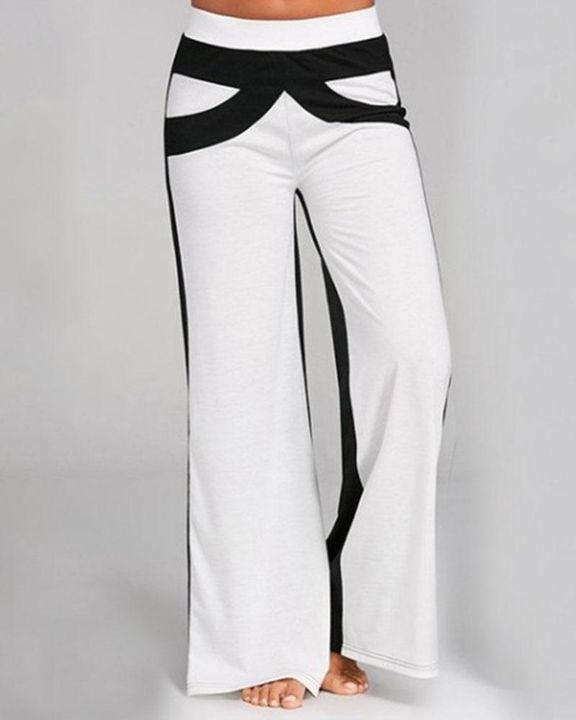 Colorbock Mid Waist Wide Leg Pants gallery 6