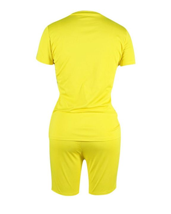 Round Neck Short Sleeve Top & Shorts Set gallery 11