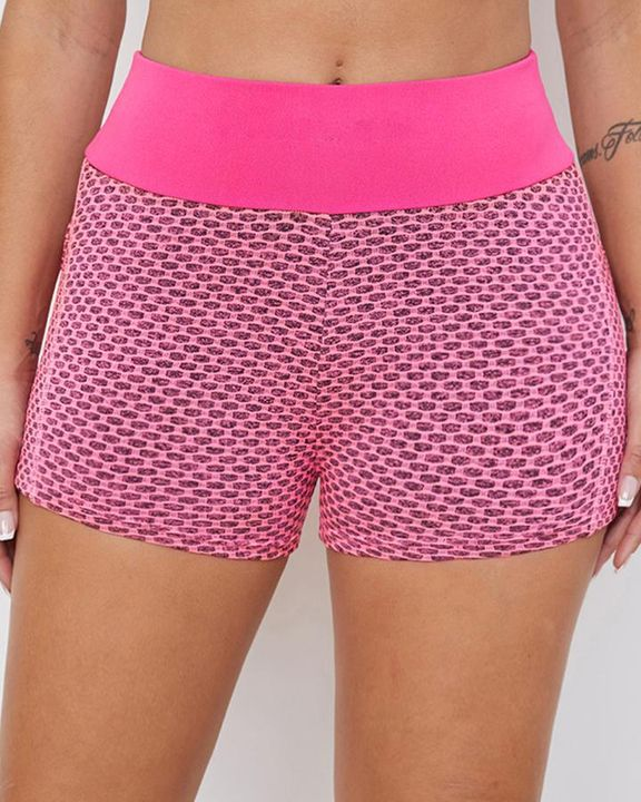 Textured Butt Lifting Sports Shorts gallery 6
