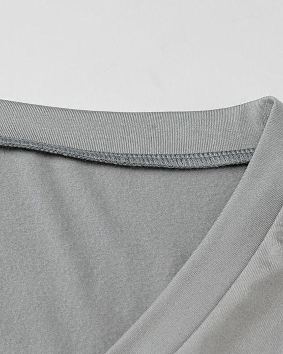 Solid Long Sleeve Bodysuit gallery 6