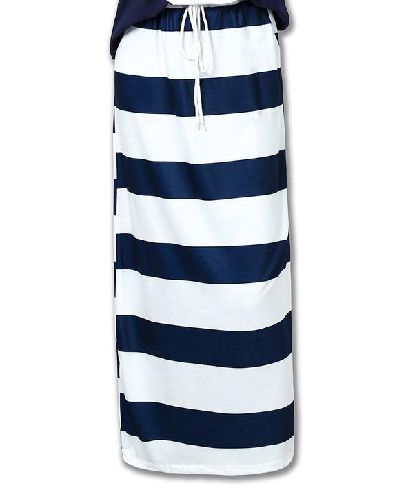 Anchor Print T-Shirt & Striped Skirt Set gallery 8